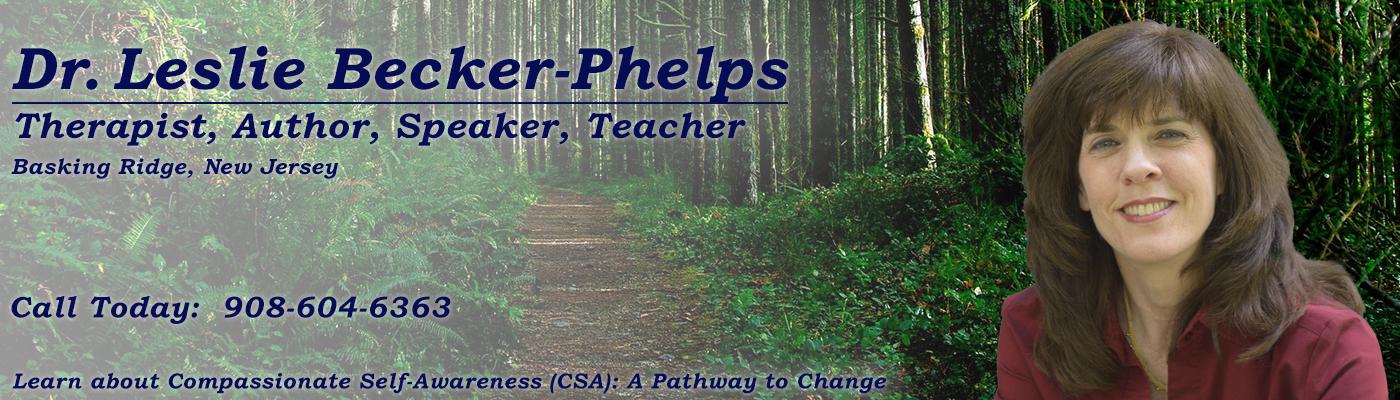 Dr. Leslie Becker-Phelps | Licensed Psychologist